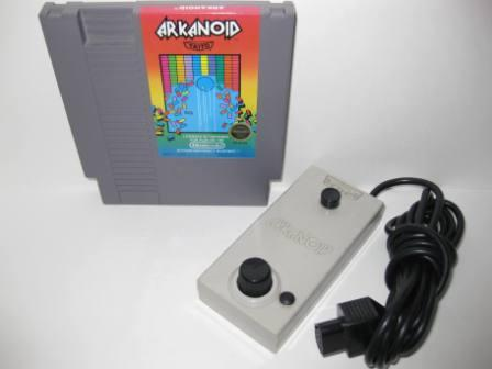 Arkanoid with Vaus Controller - NES Game