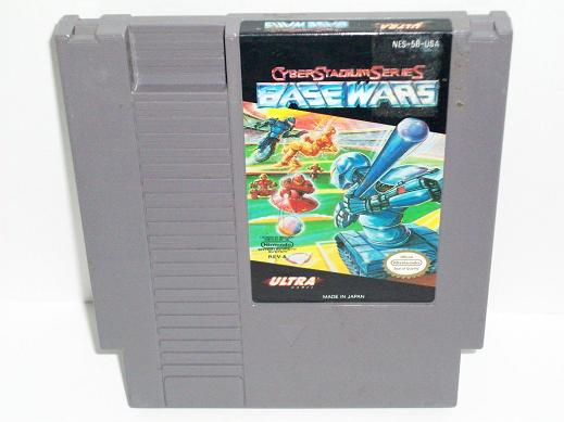 Base Wars: Cyber Stadium Series - NES Game