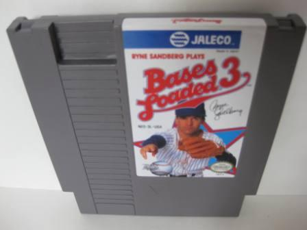 Bases Loaded 3, Ryne Sandberg Plays - NES Game