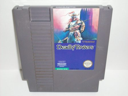 Deadly Towers - NES Game