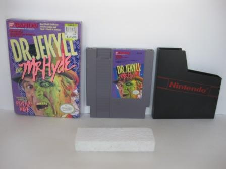 Dr. Jekyll and Mr. Hyde (Boxed - no manual) - NES Game