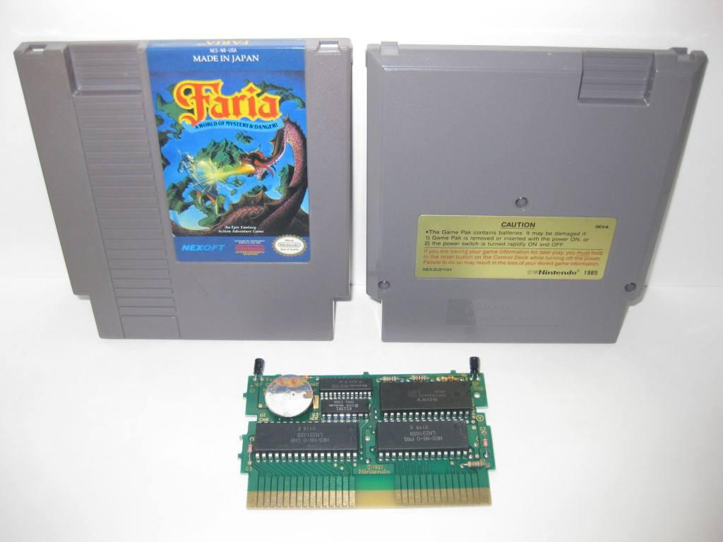 Faria, A World of Mystery & Danger! - NES Game
