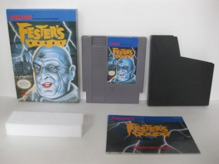 Festers Quest (CIB) - NES Game