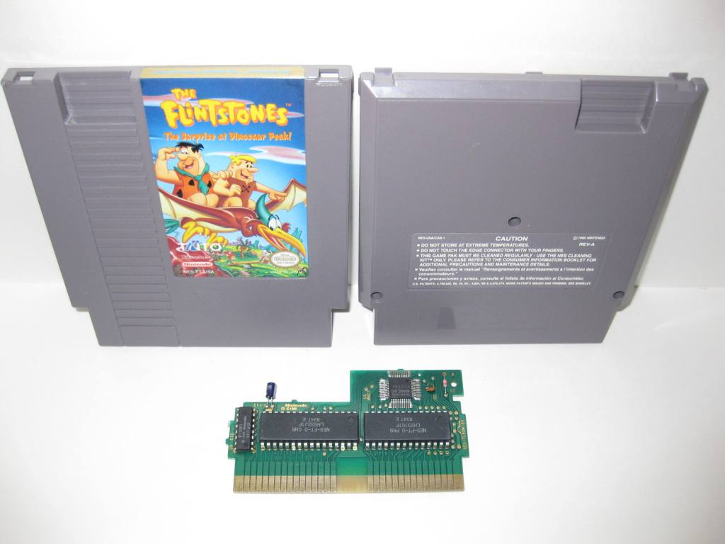Flintstones: The Surprise at Dinosaur Peak - NES Game