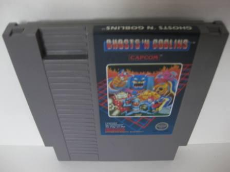 Ghosts N Goblins - NES Game