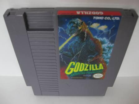 Godzilla - Monster of Monsters! - NES Game