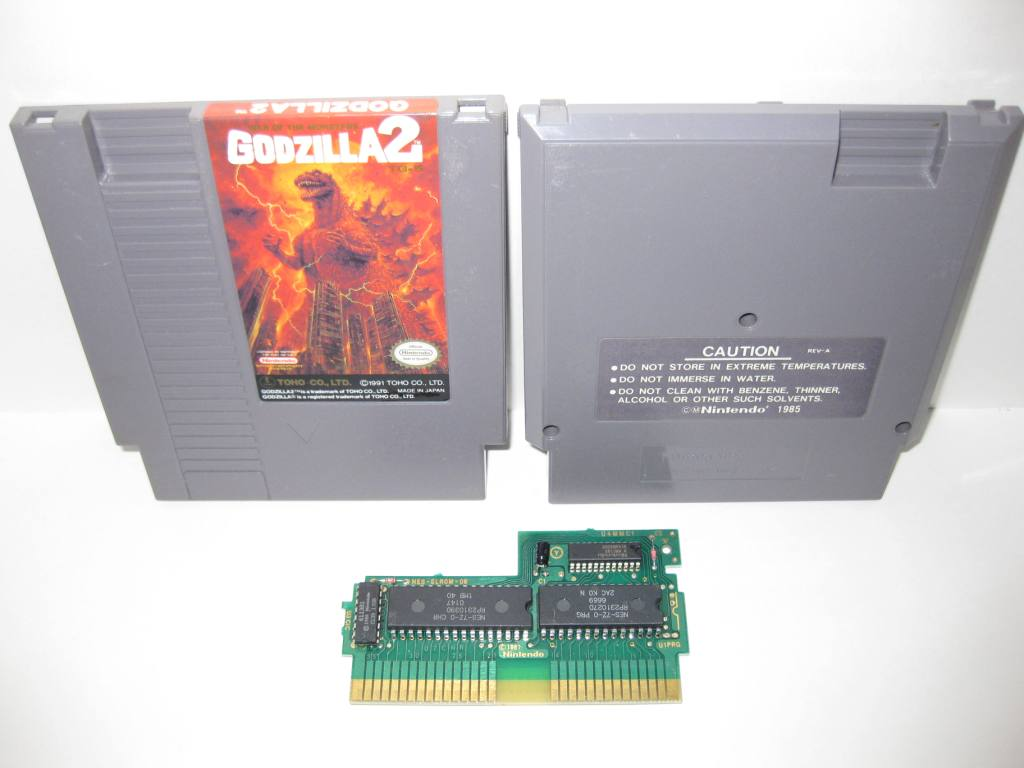Godzilla 2: War of the Monsters - NES Game