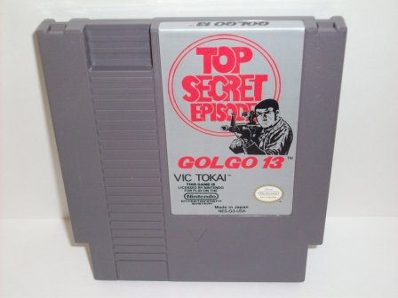 Golgo 13: Top Secret Episode - NES Game