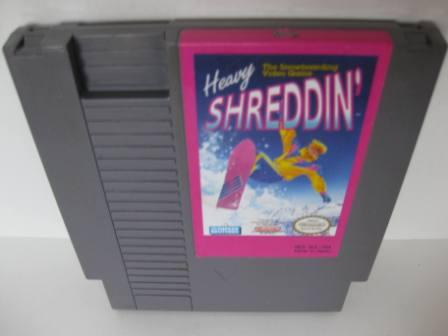 Heavy Shreddin - NES Game