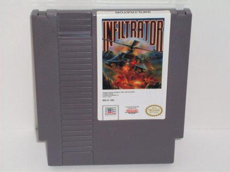 Infiltrator - NES Game