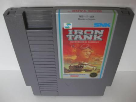 Iron Tank - The Invasion of Normandy - NES Game