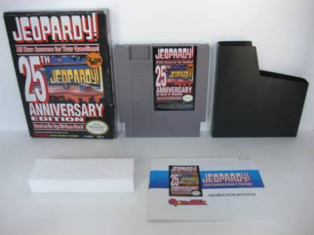 Jeopardy! 25th Anniversary Edition (CIB) - NES Game