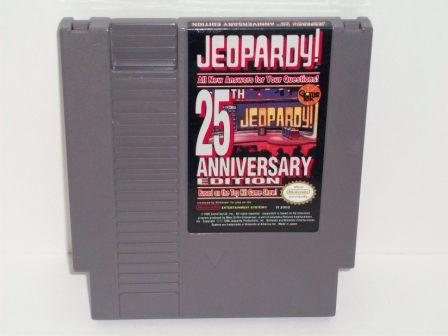Jeopardy! 25th Anniversary Edition - NES Game