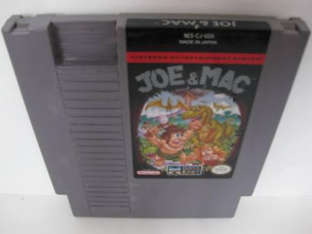 Joe & Mac - NES Game
