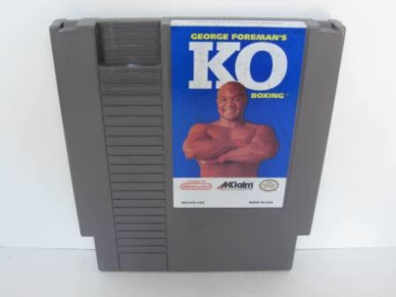 KO Boxing, George Formans - NES Game