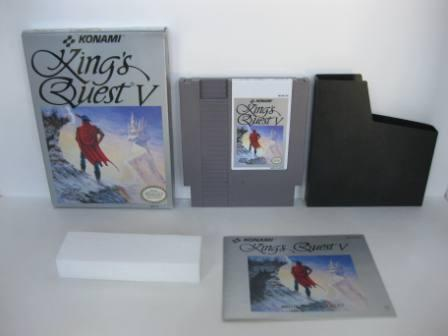 Kings Quest V (CIB) - NES Game