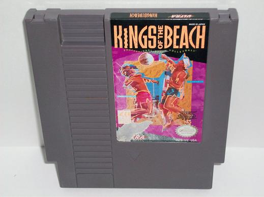Kings of the Beach Professional Beach Volleyball - NES Game
