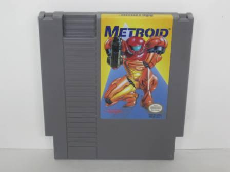 Metroid (Yellow Label) - NES Game