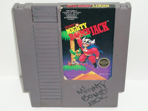 Mighty Bomb Jack - NES Game