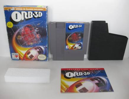 Orb 3-D (CIB) - NES Game