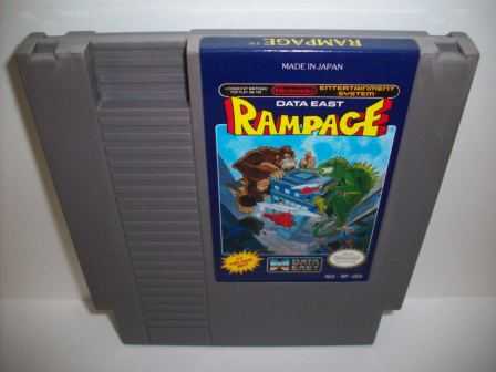 Rampage - NES Game