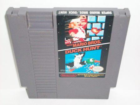 Super Mario Bros. / Duck Hunt - NES Game