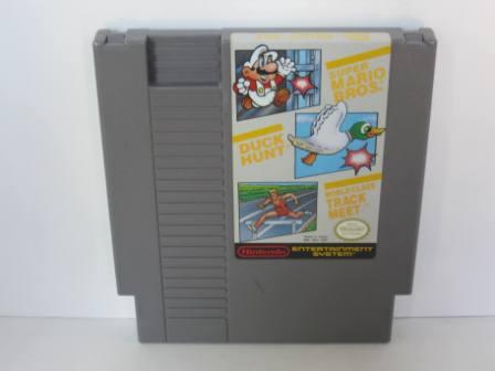 Super Mario Bros./Duck Hunt/World Class Track Meet - NES Game