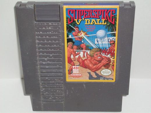 Super Spike VBall - NES Game