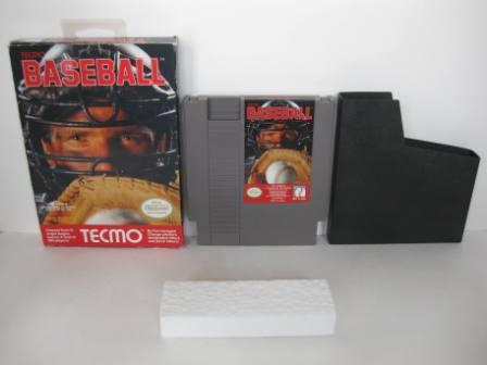 Tecmo Baseball (Boxed - no manual) - NES Game