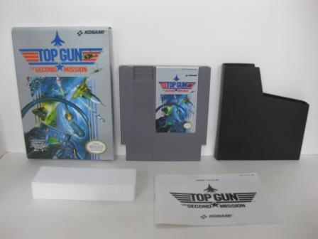 Top Gun - The Second Mission (CIB) - NES Game