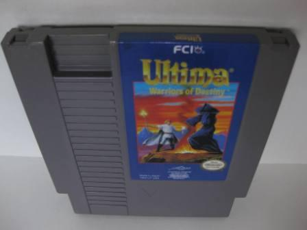 Ultima: Warriors of Destiny - NES Game
