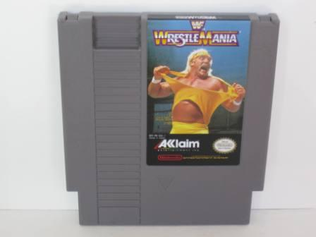 WWF Wrestlemania - NES Game