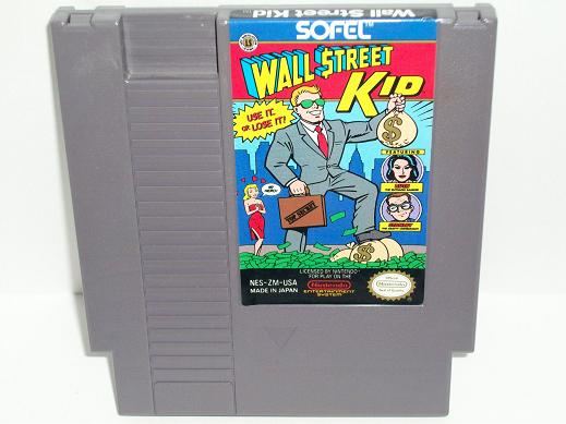 Wall Street Kid - NES Game