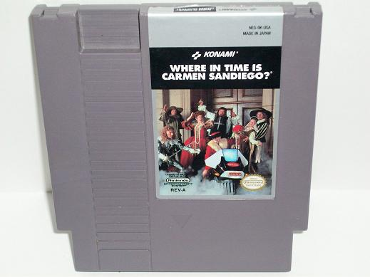 Where in Time is Carmen San Diego? - NES Game