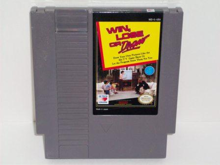 Win, Lose or Draw - NES Game