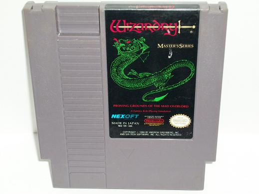 Wizardry: Proving Grounds of the Mad Overlord - NES Game