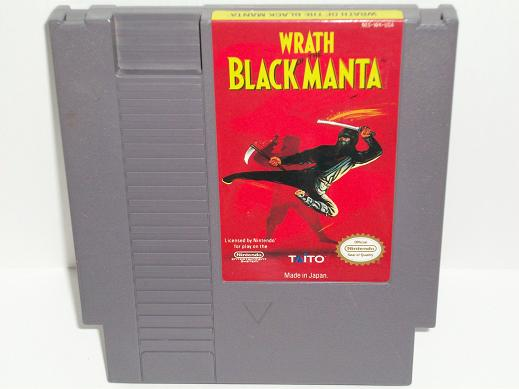 Wrath of the Black Manta - NES Game
