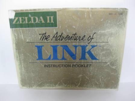 Adventure of Link, The (Zelda II) - NES Manual