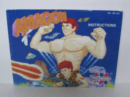 Amagon - NES Manual