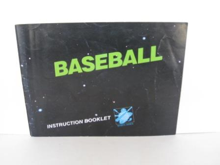 Baseball - NES Manual