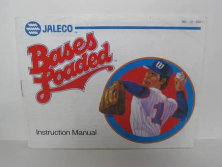 Bases Loaded (Blue Jaleco) - NES Manual