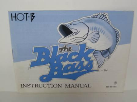 Black Bass - NES Manual