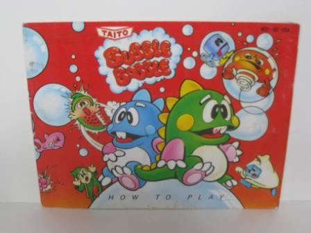 Bubble Bobble - NES Manual