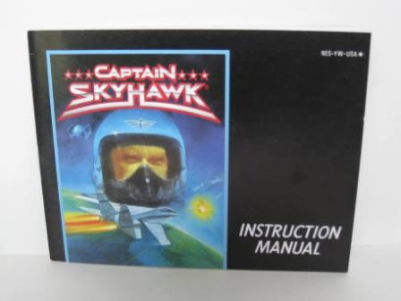 Captain Skyhawk - NES Manual