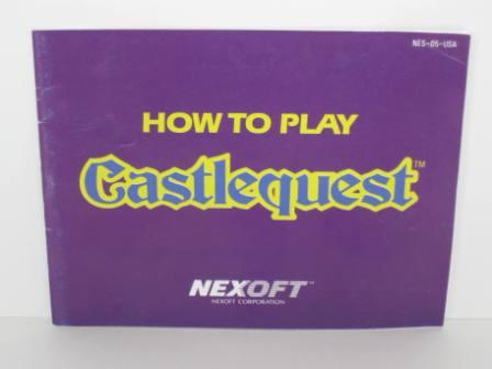 Castlequest - NES Manual
