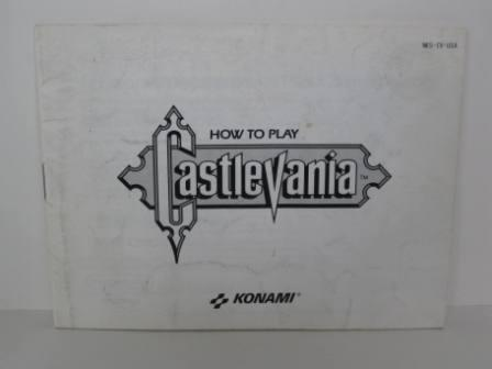 Castlevania - NES Manual