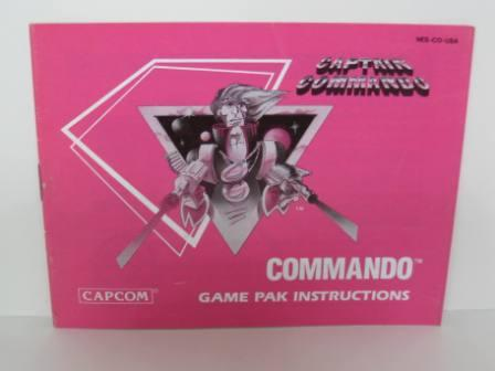 Commando - NES Manual