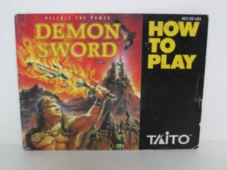 Demon Sword - NES Manual