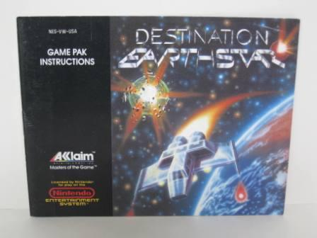 Destination Earth Star - NES Manual