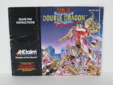 Double Dragon Ii The Revenge Nes Manual Just Go Vintage